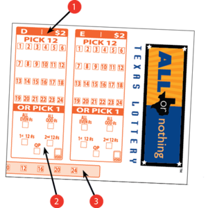how to play all or nothing texas lottery games result