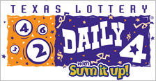 Texas Daily 4 Day recent winning numbers