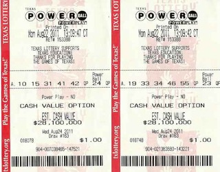 lottery numbers powerball texas